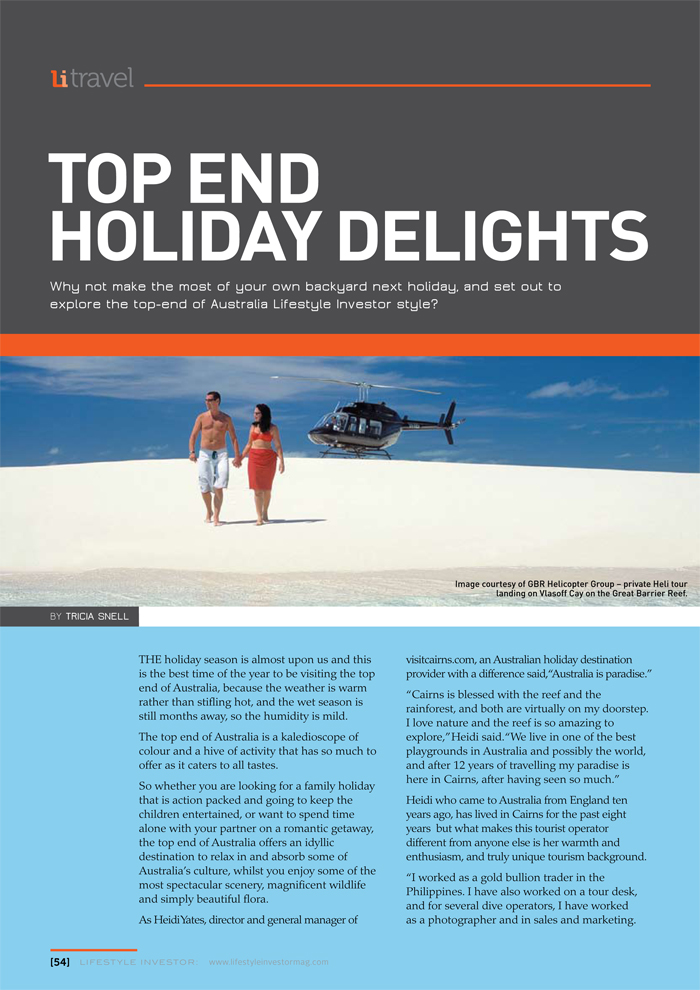 Top End Holiday Delights